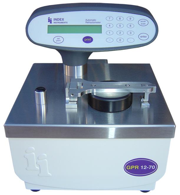 Index Instruments GPR12-70E全自動折射儀(水循環控溫) 1
